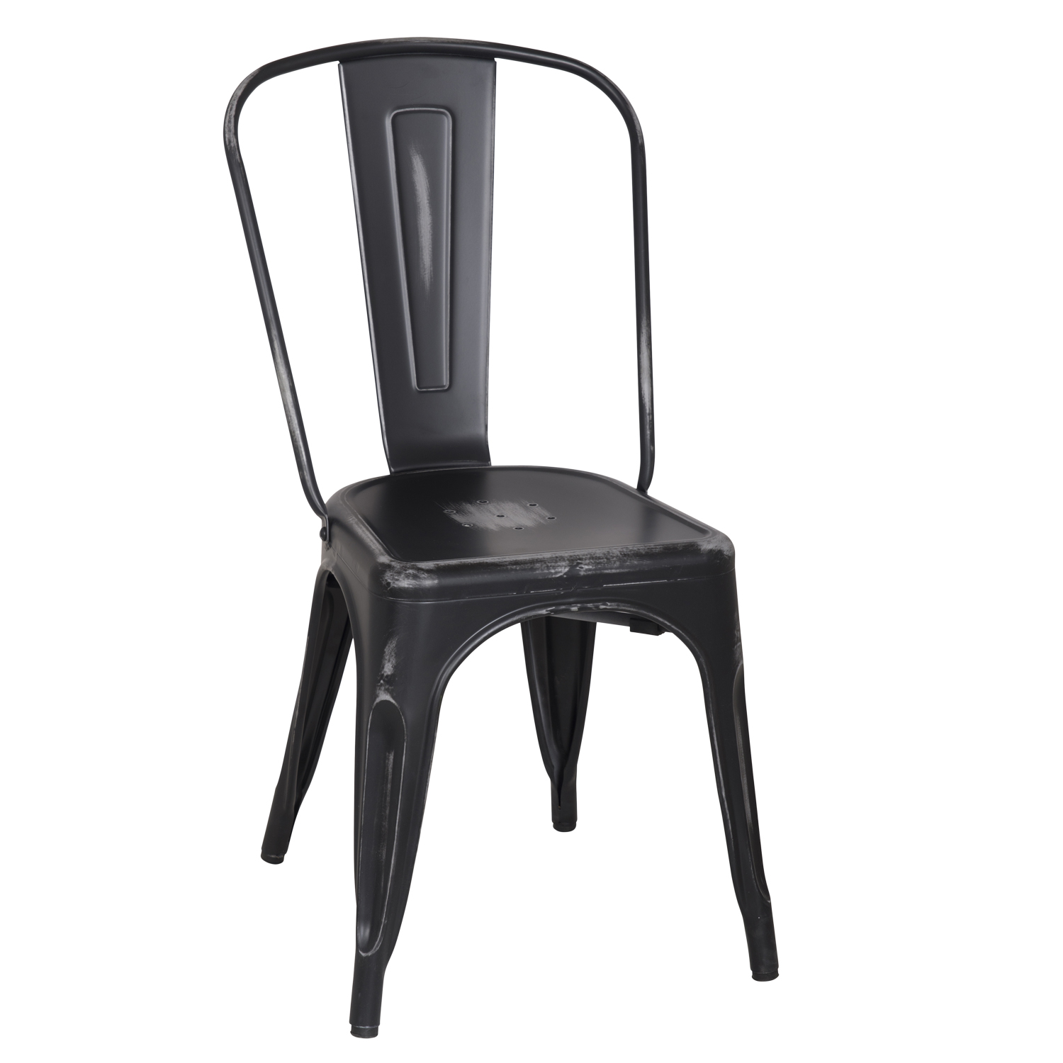 Picture of: Decenthome Distressed Black Stacking Dining Chairs Ch0280 3 Ach280 3