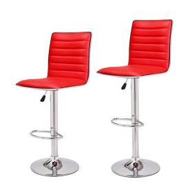 Goobies Red Swivel Bar Stools  - CH0029-3.